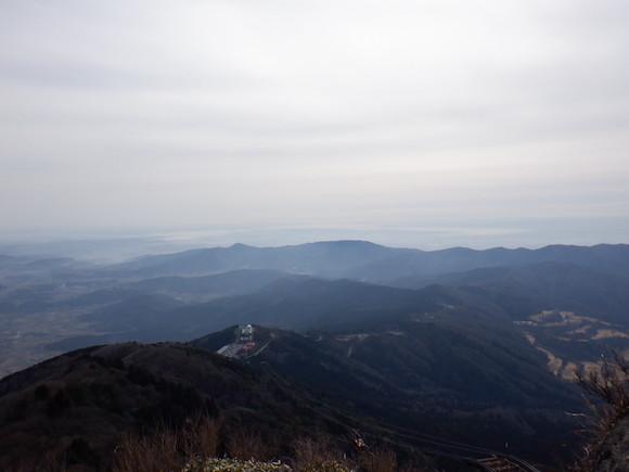 筑波山景色