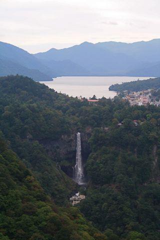 中禅寺湖、華厳の滝