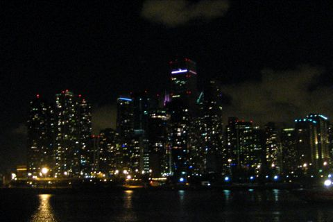 Navy Pierからみた夜景