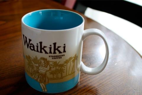 スターバックスマグ Waikiki