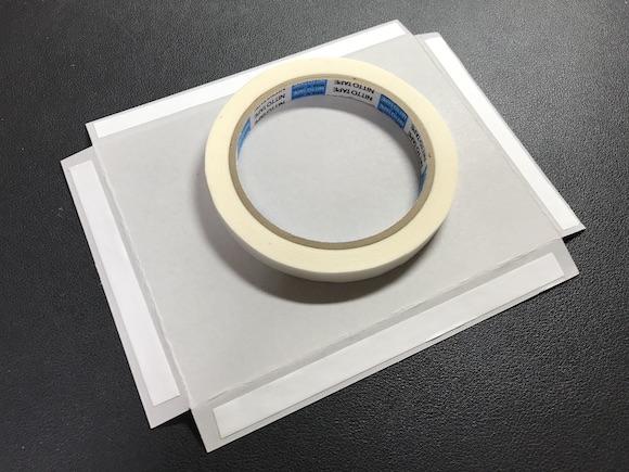 コレクションケース両面テープ
