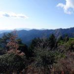 日の出山山頂からの景色