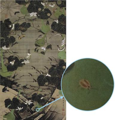 地辺群虫図