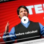 TED Teach statistics before calculus