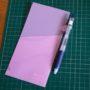 ほぼ日手帳WEEKS用ペンホルダー&クリアフォルダ、を自作してみた