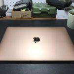 MacBook Air 2020 gold