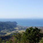 富山山頂からの景色